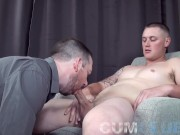 Eating Every Drop of Sperm Swallowed from Stud w/Big Dick