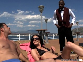 PrivateBlack - Hot Aliz Shares Her Wet Pussy With Hubby & Big Black Cock!