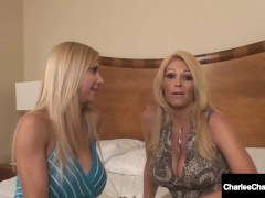 Cunt Longing Milfs Charlee Haunt & Brooke Tyler Lick That Cougar Pussy!