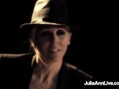 Super Steamy Buxomy Milf Julia Ann Smokes On Cigar & A Fuck-stick On Broadway!