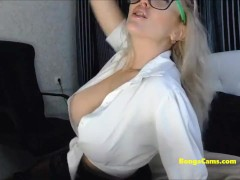 Busty Bongacams Version Busts Noisily And Passionately
