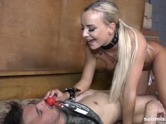 Victoria Unspoiled Bangs Her Subordinated Pet