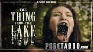 Pure naked bitches Bree daniels lesbian licking the thing from the lake -pure taboo