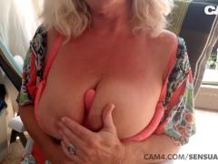 Mature 50 Yr Elderly Cougar Dumps All Over Her Fucktoy | Cam4
