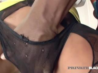 Privateblack - Hot Blonde Ivana Sugar Anal Drilled By Her Bbc Professor