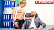 Eat out my ass sluts Letsdoeit - my milf secretary is secretly a super dirty slut