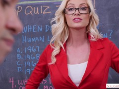 Naughty The Us - Fantasy Comes Authentic For School Man - Starring Serene Siren