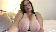 Big boob cover cum - Bbw with huge natural boobs gets covered in cum compilation