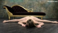 Naked spread wives Klara lookova makes naked spreads