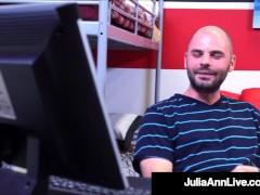 Hot Ample Melon Teacher Julia Ann Receives Dicked Through Her Nasty Student!