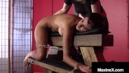 Bound ebony tgp Busty cambodian cougar maxine x bound silenced with crazy mexican ho