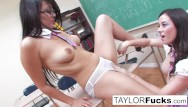 Jade and taylor lesbian Naughty school girls