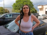 Roadside - Big Tits Teen Fucking The Car Mechanic