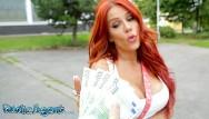 Anniston boob jennifer - Public agent jennifer keelings reveals her huge boobs in public