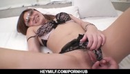 Asian side slit dresses Sexy mariko shows off her wild side on a very s