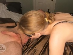 Prostate Toy Rubdown Blowjob, Rimming, Anal Grease Tube, And Cumshot