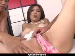 Mai Kuroki Makes Use Of The Molten Gullet And Vag To Deal Meatpipes - Greater At 69avs Com