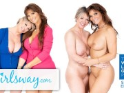 Real Life Lesbian MILF Couple Dee & Syren- We Like Girls-GIRLSWAY