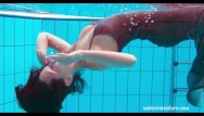 Nude swimming video clip - Hottest swimming pool video for you