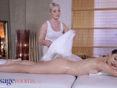 Massage Bedrooms Lovita Fate And Hayli Sanders Oil Soaked Tribbing Orgasms