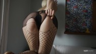 Big busty playmates Sexy playmate seducing for nudex with her stockings