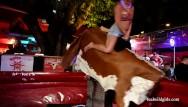 Naked litle Dirty little slut naked bull giving it to p1 fantasy fest 2019