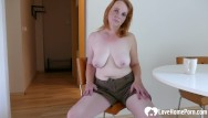 Redhead chicks Older redhead hot chick is here to masturbate passionately