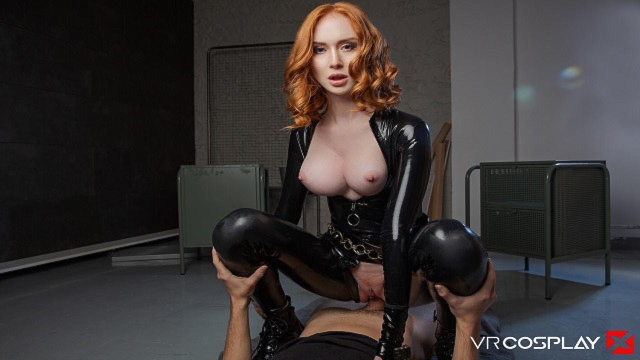 Black Widow Porn Video vrcosplay lenina crowne black widow help's hulk to destress