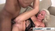 Big mature granny pics Interracial compilation