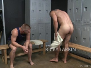 Ricky Larkin Is Ready For Anal After Workout Extra Big Dicks