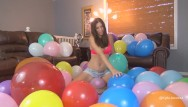 Ass balloon stuff Mega mass balloon pop