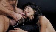 Big hand in pussy - Ravena rey treats cock with her hands, mouth pussy then gets facialized