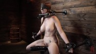 Penis torture devices Red headed lauren phillips in grueling tight bondage and suffering