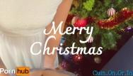 Cum in on Pleeeeeeease cum inside after christmas family dinner