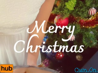 Pleeeeeeease Cum Inside After Christmas Family Dinner