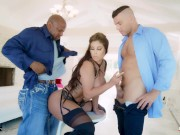 Rammed - Sexy Bridgette B Gets Both Holes Used By Dicks