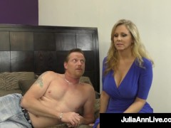 Dominating Milf Ms. Julia Ann Orders No Super Warm Jism From Cock!