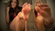 Lesbian and feet Jessica lindsey leigh - utter foot domination