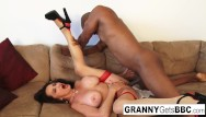 Jamie mature interracial The very best of granny gets bbc