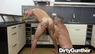 Old gay hunks Old gunther punished by hot twink