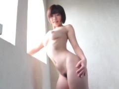 Mana Sakura Erotic Bare Posing Of Famous Jav Starlet By Window