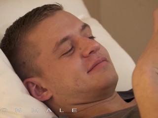 IconMale – Sensual make out and fucking ends in double cumshot