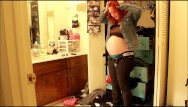 Full clothing bondage videos Heavy pregnant clickbait custom video trying on clothes that dont fit