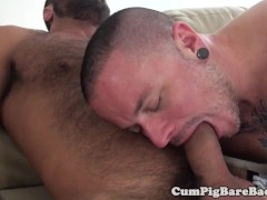 Stud Banged By Horny Mature Bear