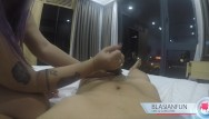 New zealand escort massage Thick anonymous asian escort gives hand job in hotel w/ huge cumshot