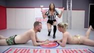 Woman fighting woman naked Sexy mixed arm mixed wrestling hot man vs hot woman chad vs riley reyes