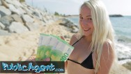 Naked blonde bikini teen Public agent petite blonde liz rainbow fucked on the beach in a bikini