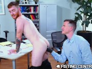 The Boss Is Riding My Ass Hard - FistingCentral