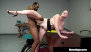 Beautiful dick woman Hot thick busty beauty riley nixon is dark dicked by black bull rome major