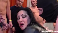 Party fuck compilation tubes Incredible milf fucked by an army of men